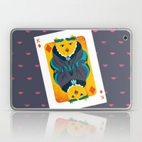 Cat the King of Diamonds Laptop & iPad Skin