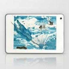 mermaid of Zennor collagraph 1 Laptop & iPad Skin