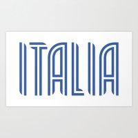 Italia/Italy Art Print