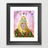 QUEENIE Framed Art Print