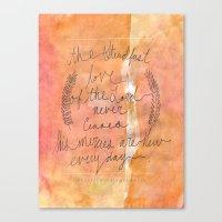 Great Is Thy Faithfulnes… Canvas Print