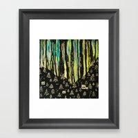 Habits And Habitats Framed Art Print