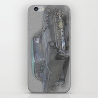 iPhone & iPod Skin featuring amcar 1 by AstridJN