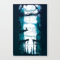 City of Lost Muses Canvas Print