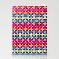 candy diamonds Stationery Cards