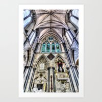 Southwark Cathedral Lond… Art Print