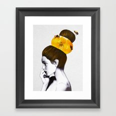 The Bee Hive  Framed Art Print