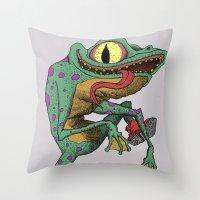 Perequeca Throw Pillow