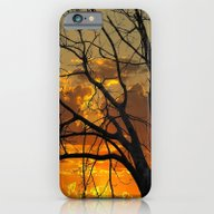 iPhone & iPod Case featuring Sunset Tree by Brown Eyed Lady