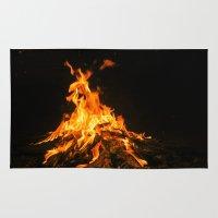 Bonfire (lohri) Rug