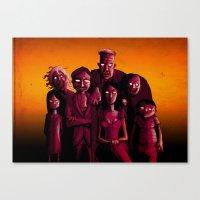 Monster Mash Canvas Print