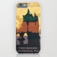 Hopewell Rocks Poster iPhone 6 Slim Case