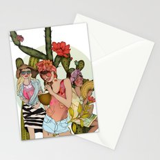 Hot N' Steamy Stationery Cards
