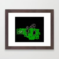 terrible bike Framed Art Print