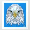Blue Eagle Art Print