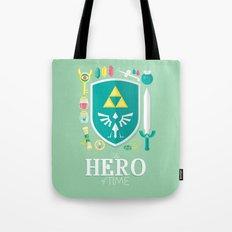 Hero of Time Tote Bag