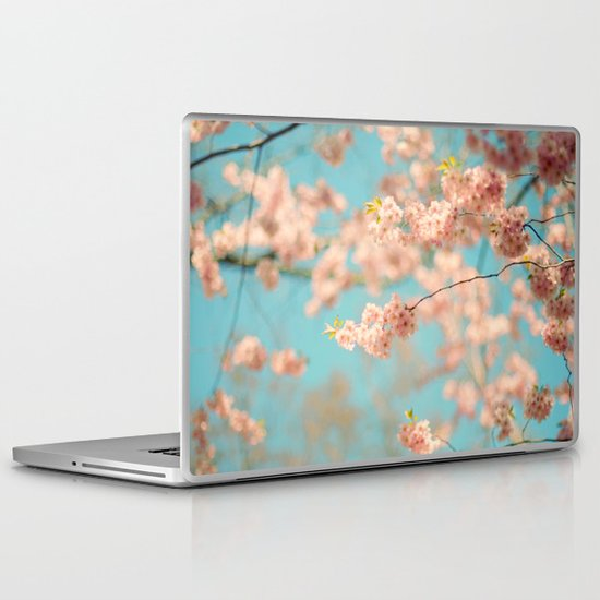 Dance of the Cherry Blossom Laptop & iPad Skin