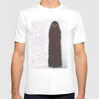 Two Ghost Pals Mens Fitted Tee White SMALL