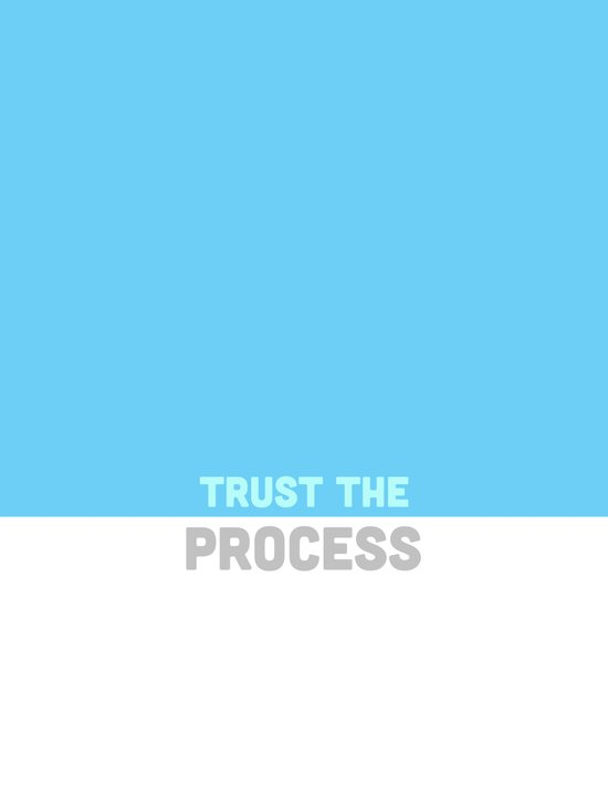 Trust the Process Canvas Print