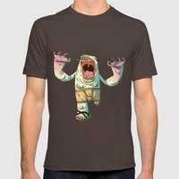 Monster Mens Fitted Tee Brown SMALL