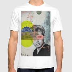 Public Figures - James Dean Mens Fitted Tee White SMALL