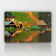 A Village In The Mirror Laptop & iPad Skin