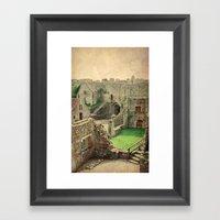 Carisbrooke Castle, Isle of Wight Framed Art Print