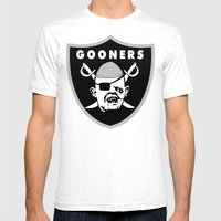 Astoria Gooners Mens Fitted Tee White SMALL