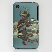 iPhone 3Gs & iPhone 3G Cases featuring Urban Birds by Thomcat23