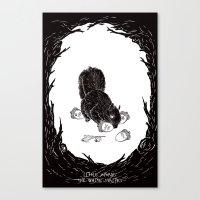 Little Acorns - The Whit… Canvas Print