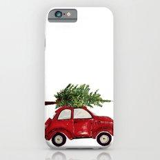 Red Christmas Beetle  iPhone 6 Slim Case