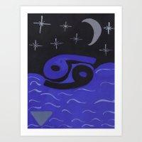 Cancerian Night Art Print