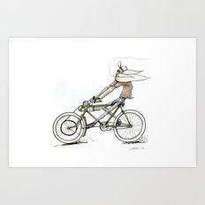 Cruiz'n Right Alomg Art Print