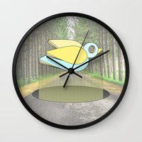 let me fly Wall Clock