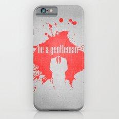 be a gentleman iPhone 6s Slim Case