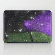 Purple Starry Eyed Dog iPad Case