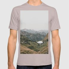 Gentle - Landscape Photo… Mens Fitted Tee Cinder SMALL