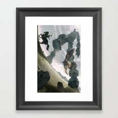 Shadow (Large Format) Framed Art Print