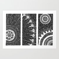 Autogeneración Art Print