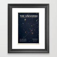 Framed Art Print featuring The Universe by Mike Gottschalk