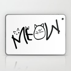 MEOW  typography Laptop & iPad Skin