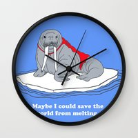 Maybe I Could Save The W… Wall Clock