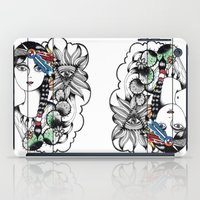 Cactus Eye Pop Style iPad Case