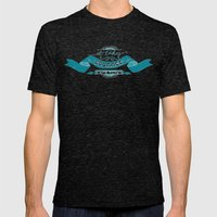Courage Mens Fitted Tee Tri-Black SMALL