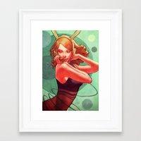 C for Circle Framed Art Print