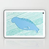 Manatees Are Rotund Sea-… Laptop & iPad Skin