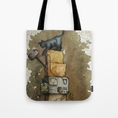 Schrödinger`s Cat Tote Bag
