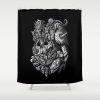 Mictlantecuhtli Shower Curtain