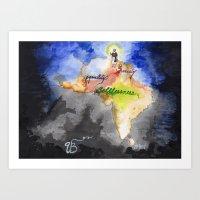 Guru Nanak Dev Ji Art Print