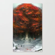Tree of Duality Canvas Print